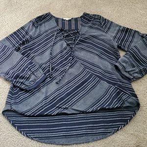 Oddy Hi Lo blouse